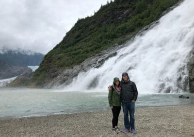 Alaska Allen and whitney waterfall